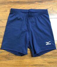 Mizuno Impermalite Lightweight Performance Volleyball Shorts Navy Womens Small