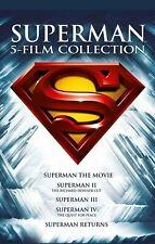 The Superman Movie Anthology New DVD Box Set