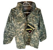 Gore-Tex Parka EWOL FREE Extra-Small Short Coat ACU Digital Army ACU Pattern