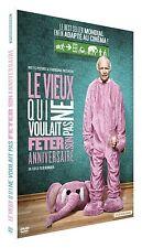 DVD *** LE VIEUX QUI NE VOULAIT PAS FETER SON ANNIVERSAIRE ***  ( neuf emballé )