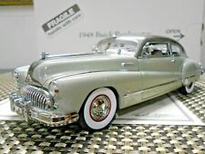 Danbury Mint 1:24 1948 Buick Roadmaster Coupe Nickel Gray W/ Papers!