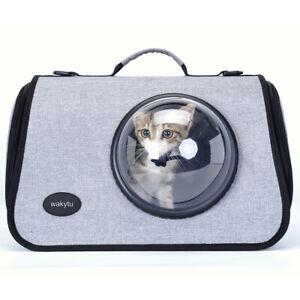 Brand wakytu Pet Carrier Bag Astronaut Space Capsule Design Dog Cat Puppy Travel