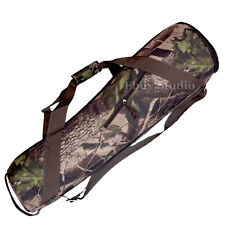 """Camouflage 800mm Camera Tripod Carry Bag Travel Case 31.4"""" For Manfrotto Velbon"""