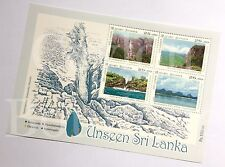 Unseen Sri Lanka Stamps Miniature Sheet with Preparation 12 Stamps in 03 Sheets