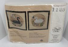 Ebony Swan Crewel Kit 1125 The Creative Circle NIP
