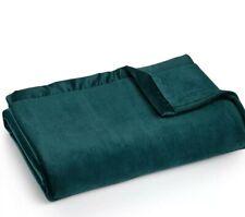 Berkshire Classic Velvety Plush Blanket - FULL / QUEEN - Atlantic Blue