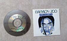 "CD AUDIO MUSIQUE / BABYLON ZOO ""SPACEMAN"" 2T CD SINGLE 1996 CARDBOARD SLEEVE"