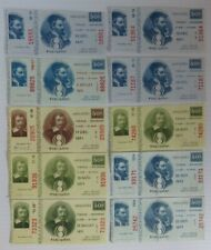 (10) 1971 LOTO QUEBEC LOTTERY TICKETS             (INV27902)