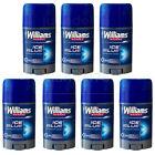 "WILLIAMS ""ICE BLUE"" DEODORANT STICK FOR MEN, 7 x 75 ml 2.53 FL. OZ. ea"