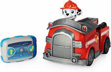 PAW Patrol Ferngesteuertes Feuerwehrauto mit Marshall - Figur, RC Fahrzeug in ro