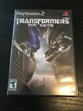 Playstation 2 Transformers The Game (Tested)