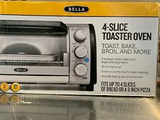 Bella 4-Slice Counter-Top Toaster Oven 14326