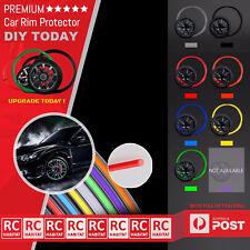 8M Black Car Wheel Durable Rims Rubber Protector Tire Guard Moulding