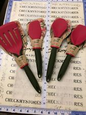 4 PC Zeal  Reflecting Nature 1X Turner  1XSpatula,2 SPOON,RED GRN