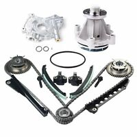 Timing Chain Kit Cam Phaser Water Oil Pump Fit 04-08 Ford F-150 5.4 TRITON SOHC