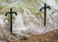 10x Ganchos de Plantas Barras Fijación Jardín Protección Ayuda Trepar Set Nuevo