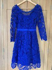 Ladies Monsoon Cobalt Blue Dress Size 8. BNWT.