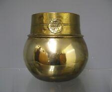 Ancienne mesure à riz en bronze 19e.