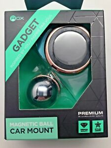 Rox Gadget Magnetic Ball Car Mount - Magnetic Ball and Socket Phone Mount