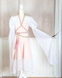 WHITE CHEMISE Dress Medium Renaissance Medieval Festival Costume Theater Garb