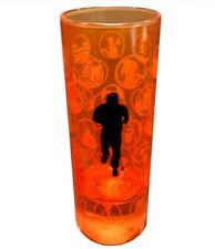 New Tough Mudder Obstacle Tall Shot Glass Icon Shooter 2oz Orange Fire Army R13