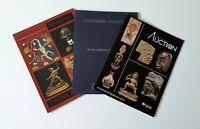 trois catalogues de ventes Art Premier