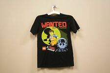 WANTED BROKEN OR TOGETHER BLACK T-SHIRT..MAD ENGINE..FOR KIDS..SIZE: MEDIUM..A.D