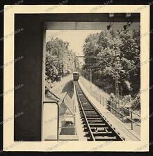Foto-Stoccarda-STAND FUNIVIA-Foresta cimitero-Technik-Trasporti-ssb-1930er-2