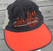 Vintage Harley Davidson Hat Truckers Mesh Cap Painters Retro 80's O/S USA RARE