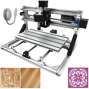 VEVOR CNC 3018 Router Kit 3 Axis Engraving Machine GRBL Control PVC Wood Plastic
