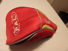 """Ping """"Pal"""" driver head cover beautiful bright red with yellow gold accent"""