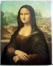 Tableau peinture reproduction sur toile Mona Lisa LA JOCONDE Leonard de Vinci