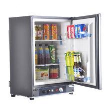 60L LP Gas Mini Fridge Caravan Motorhome Refrigerator RV 12V 230V Second-Hand