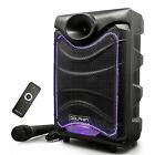 Dolphin Portable Bluetooth Speaker with Lights and Microphone (For Parts)