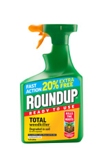Roundup Fast Action Total Ready To Use Weedkiller Spray 1Ltr