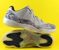 Air Jordan 11 Retro Low 'Snakeskin Light Bone' Men's Shoes Size 18 [CD6846-002]