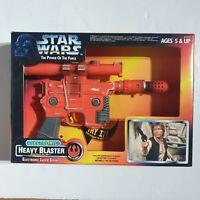 Star Wars Electronic Heavy Blaster Blastech DL-44 POTF BNIB