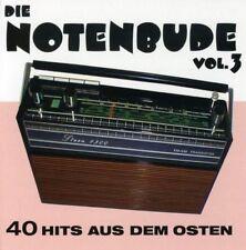 NOTENBUDE-VOL.3  40 HITS AUS DEM OSTEN - TRIO BRAVO, EISBRENNER -  2 CD NEUF