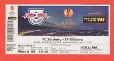 ORIG. TICKET EUROPA LEAGUE 2013/14 Red Bull Salzburg-IF Elfsborg!!! RARO
