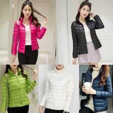 Factory Sale Women's Ultralight 90% Duck Down Puffer Jacket Coat Warm Ultralight