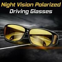 Polarized Men Sunglasses Night Vision Anti-Glare Driving Fishing Yellow Glasses
