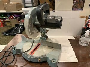 "Delta Model 36-040 Compound Miter Saw 8-1/4"" with blade Works Like A Charm"
