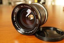 Canon FD Admira 28mm F/2.5 Lente Apertura Veloce Bokeh adattabile Sony Panasonic