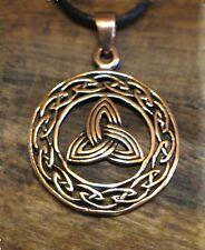 Anhänger Bronze keltische Triquetta Kelten Mittelalter