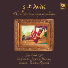 George Frideric HANDEL / Integrale des 16 Concertos pour Orgue / (3 CD)