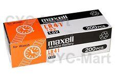 Maxell LR41 0 HG Batteries 40 Pcs Ag3 192 L736 Post Worldwide