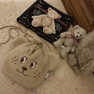 Vintage Harajuku Sweet Cute Little Bear Itabag Messenger Bag Shoulder Bag
