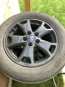 """FORD TRANSIT CONNECT 16"""" ALLOYS TYRES VAN CAR 5X108 USED"""