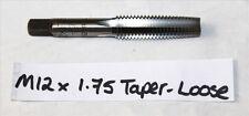 M12 x 1.75 CONO Tap-Metrico-Nuovo - 12 x 1.75