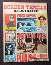 1963 SCREEN THRILLS ILLUSTRATED Magazine v.2 #2 FN- 5.5 The Phantom Charlie Chan